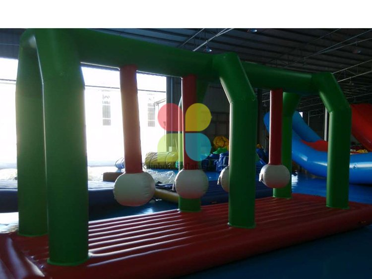 Inflatable Water obstacles park sport games for sale RB32082