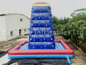 RB13002(7x7x7m) Inflatables Climbing Rock Game