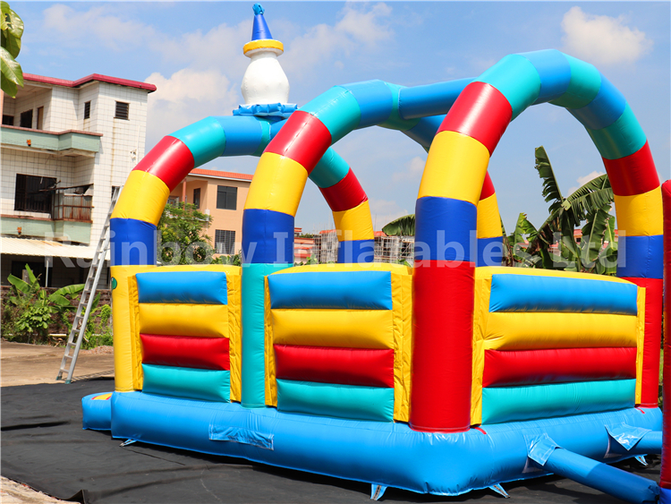 RB1012 (6x4m) Inflatable clown bouncer hot sales