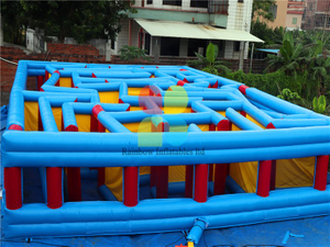 RB91016-1(11x9m) Inflatable Giant Maze Game In High Quality for sale