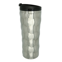 Unique Stainless Steel Vacuum Travel Mug 16oz Silver