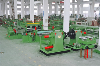 High precision automatic steel coil decoiling machine cut to length process