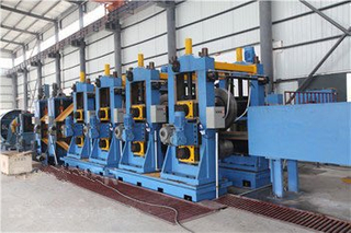 High Frequency Carbon Steel Pipe Mill Machine