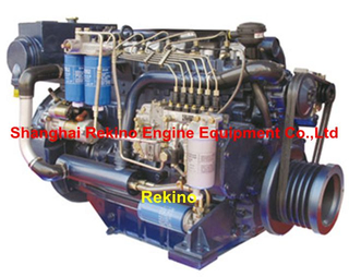 Weichai Deutz WP6C (226B-6C) marine main propulsion boat diesel engine 122HP-250HP
