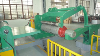 Automatic double knife block metal trip slitting and rewinding line price