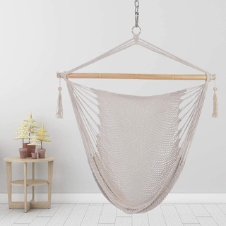 Hanging Chair Macrame Swing Hammock