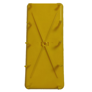 Panel Identification Plates 180mm x 75mm Yellow Color