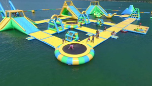 Bouncia Inflatable Floating Water Park Giant Inflatable Park for Sea