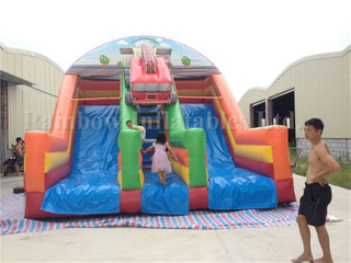 RB6053 (8x6x6m) Fireman Inflatable Slide For Children