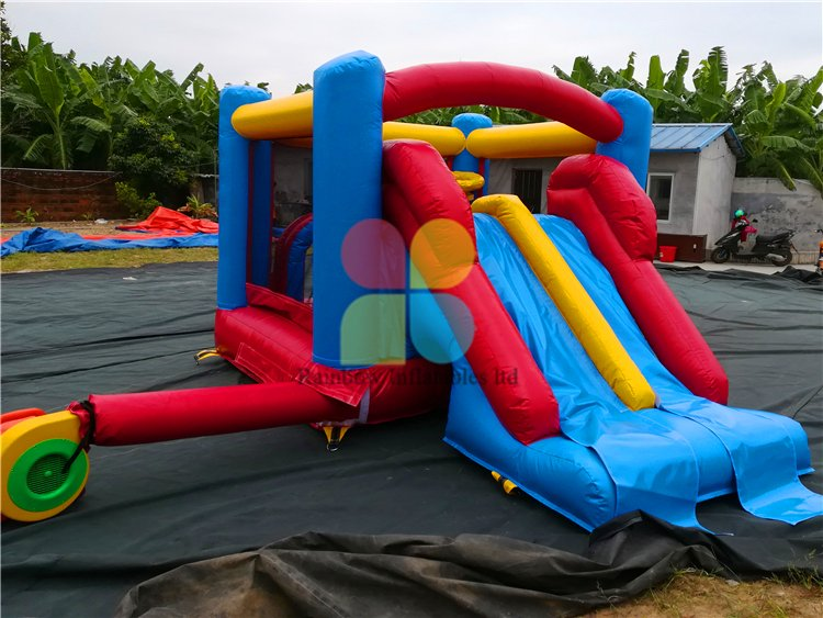RB3082(4x2.5x2.1m) Inflatables funny Bouncer with slide for sale