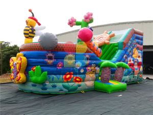 RB11015(8.5x4m)Inflatable Popular Bee Pirate Boat For Outdoor Playground