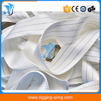 3T white industrial webbing belt