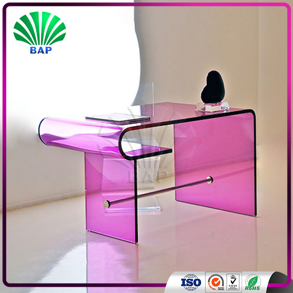 Buy Fancy Pink Dressing Table Salon Coffee Table Living Room Console ...