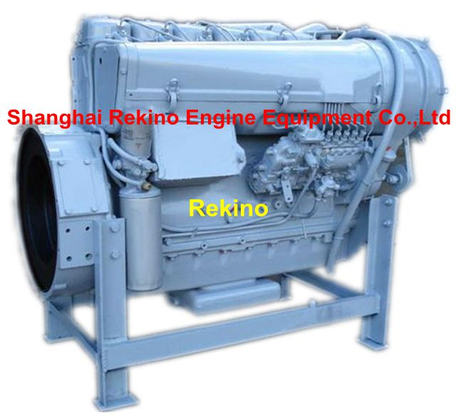 Deutz BF6L913 air-cooled diesel engine for construction machinery 112-118KW