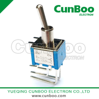 MTS-202C PCB mounting Toggle switch with clubfoot