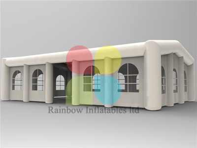 RB41063(30x10m) Inflatable Beautiful LED lighting tent/square tent inflatable for sale