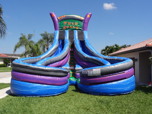 Commercial Grade Inflatable Hippo Slide High Quality Inflatable Water Slide