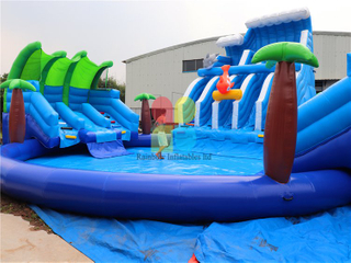 RB32017(dia15m) Inflatable Giant jungle Water Park hot sale