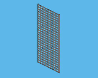 0-020 Display Racks Gridwall Accessories