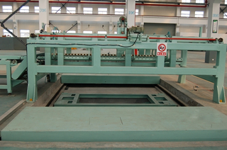 High precision steel coil cut to length machine