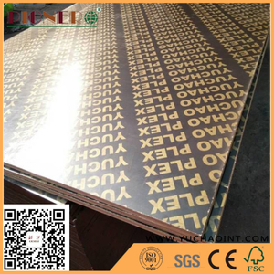 High Grade Waterproof Film Faced Plywood For Shuttering