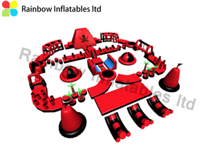 Hot outdoor commercial adult inflatable water park Inflatable Pirate theme water park RB34005 30X25