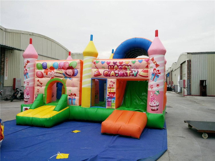 RB20041( 6.3x3m )Inflatables Happy Birthday Theme Jumping Castle Bouncy Castle For Kids