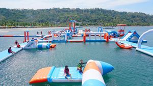 Barrie Floating Water Park Floating Water Playground for Summer Holiday