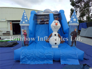 RB08007(5.4x3.5x4m) Inflatable Popular Frozen Theme Water Slide For Fun