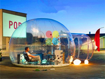 RB41058(dia 4x6m) Inflatable Bubble Tent Inflatable Transparent Tent for sale