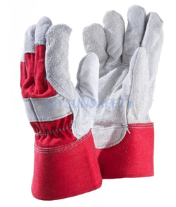 CB303 leather palm work gloves