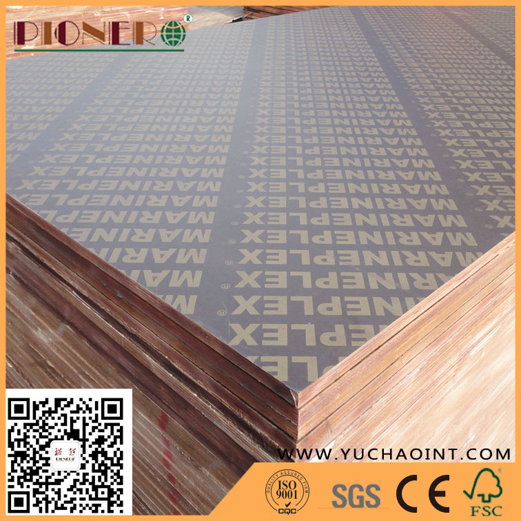 Film Faced Plywood for Construction From Linyi Plywood Factory