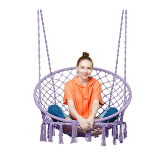 LG3008 100% Cotton Polyester Backyard Swing Chair