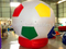 RB22038-3( dia2.7m ) Inflatable Colorful ground balloon for advertising
