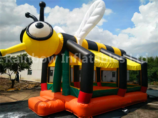 RB1028 (4x6.8x5.4m ) Inflatables Popular Bee theme Bouncer