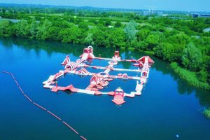 China Reap Inflatable Floating Water Park Playground for Sale