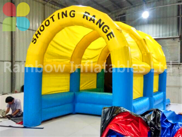 RB9091( 4x5m ) Inflatables Small Popular Shooting Range For Indoor&Outdoor Sport Game