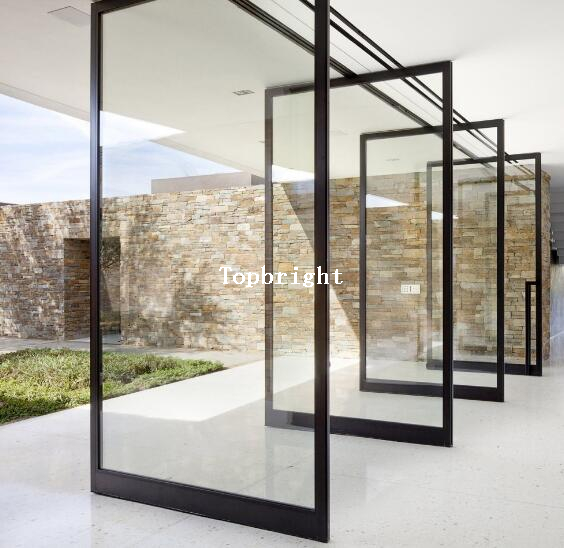 Custom Office Aluminum Glass Pivot Door Buy Aluminum