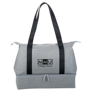 Personalized Cotton Weekender Tote Fashion Travel bag