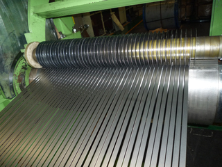 China automatic aluminum coil steel slitting line manufacturer