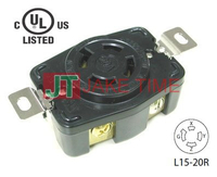 NEMA L15-20R Locking Receptacles