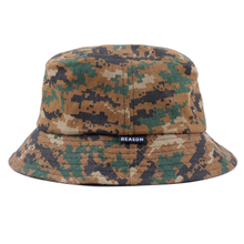 Fashion cotton camo bucket hat