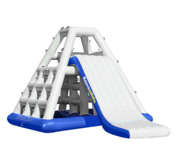 Inflatable Water Toys Climbing Wall Ladder And Slide for Water Games