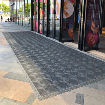 Modular Entrance Matting with New Design
