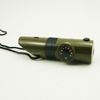 7 in 1 Function Survival Tool Outdoor Whistle with Compass
