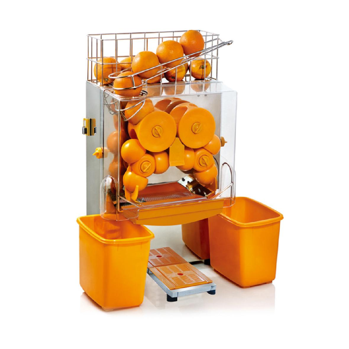 Commercial orange juicer machine