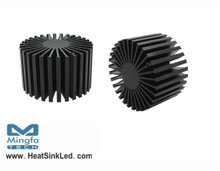 SimpoLED-LUN-8150 for Luminus Xnova Modular Passive LED Cooler Φ81mm