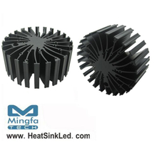 EtraLED-SHA-13050 for Sharp Modular Passive LED Cooler Φ130mm