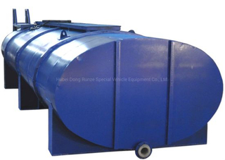 HCl Acid Liquid Transport Tanks for Truck Lorry Customizing 5m3 - 25m3 (Truck Mounted Tank body Carbon Steel inner Lined LLDPE)