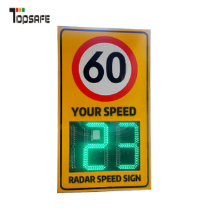 solar radar speed sign Safety signs